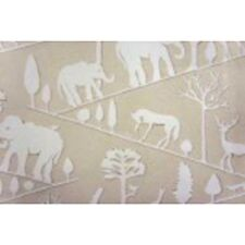Elephant African Insp Beige Upholstery Fabric by Braemore Jungle Walk CL Natural