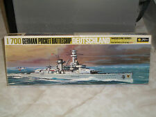 Tamiya 1/700 Scale German Pocket Battleship Deutschland