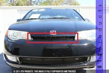 GTG 2002 - 2006 Saturn Ion Coupe 2dr 1PC Gloss Black Upper Billet Grille Grill