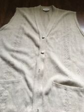 Ladies Jennifer Sleeveless Button Up Cardigan with pockets taupe colour large