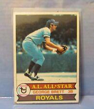 Baseball card Vtg George Brett #330 1979 sport Topps TCG Royals all star 3B