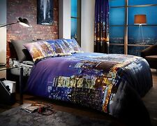 New York Night Life Duvet Covers Quilt Covers Reversible Bedding Sets All Sizes