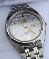 NEW MODEL*** Orient 3 Star Silver Herren Damen Automatic Watch Automatik Uhr