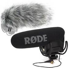 Rode Videomic Pro Rycote Kamera Richtmikrofon + KEEPDRUM WS03 Fell-Windschutz