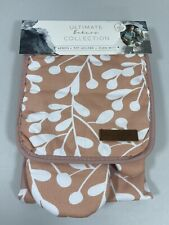 New listing New Eco One Ultimate Bakers Collection Apron Pot Holder Oven Mitt Cooking 3 Pc
