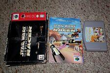 Star Wars: Episode I: Racer (Nintendo 64, 1999) Complete in Box FAIR D E F