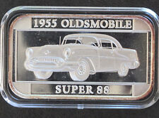 1997 Silver Towne 1955 Oldsmobile Super 88 Silver Art Bar P0276