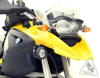 Denali Auxiliary Light Mounting Bracket for BMW R1200GS '04-'12 & GSA '05-'13