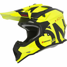 Adulto Quad Atv Motocross Casco Amarillo Oneal enduro bici de la suciedad MX Carreras Slick