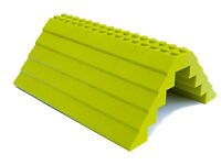 LEGO ROOF 5x12x16 # LIME GREEN # 100 pieces Slopes Tiles 1x2 2x2 # NEW # house *