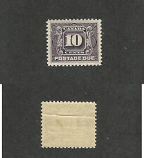 Canada, Postage Stamp, #J5 Mint NH Crease, 1928 Postage Due