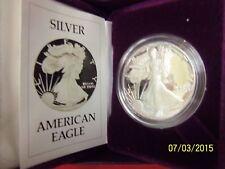 PROOF 1986-S Silver Eagle in MINT Box w/COA FREE SHIP