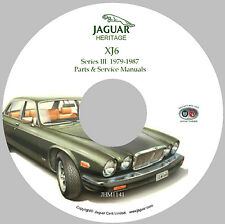 Jaguar XJ6 (Series III) Workshop Parts and Service Manual on CD-ROM (Used)