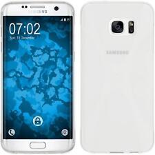 Funda de silicona Samsung Galaxy S7 Edge X-Style - transparente Case