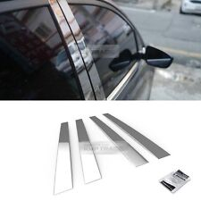 Stainless Steel Chrome Window Pillar Molding 4P For HYUNDAI 2002 - 2012 Getz