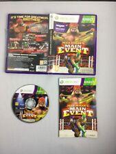 Hulk Hogan's Main Event Xbox 360 (Kinect Required) UK PAL **FREE UK POSTAGE**