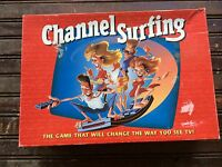 Vintage Channel Surfing Action TV Game Milton Bradley 1994