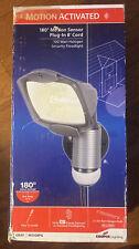 Cooper Lighting 180* Motion Sensor 100 Watt Halogen Floodlight