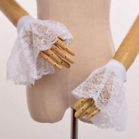 Victorian Handmade Detachable Party Wrist Cuff Gothic Lace Wrist Cuffs Accessory