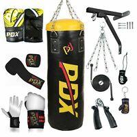 PDX Heavy Punch Bag Set, 14-PCs Various Color Filled Kick Boxing Punching Gloves