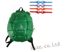 Teenage Mutant Ninja Turtles Shell Backpack with  Masks TMNT-Kids Shoulder Bag