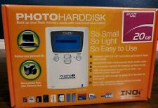 INOi HD182 Photo HardDisk External Hard Drive (20GB) Brand New