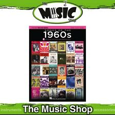 New Songs of the 1960s PVG Music Book with OLA - Piano, Vocal, Guitar