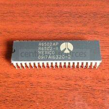 1PCS R6502AP R6502P R6502 Rockwell CPU 6502 DIP-40 IC CHIP