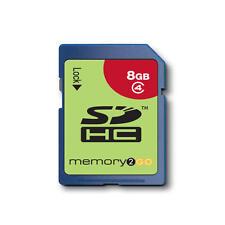 Memory2go SDHC Caméra Carte Mémoire 8GB Sécurisé Numérique