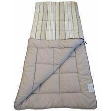 SunnCamp Super King Size Grey Stripe Sleeping Bag Sb1416
