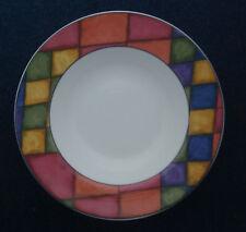 "Victoria & Beale PRISM dinnerware rimmed soup bowl 9"""