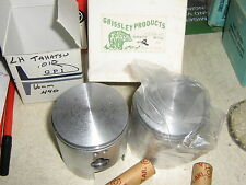 rupp tohatsu 440 grizzly piston set +.010 with boost ports  free ship