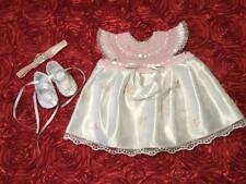 Show-Off Baby Girl Dress Set - White & Pink