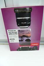 2012 canon EOS système Guide prospectus catalogue Camera guide brochure