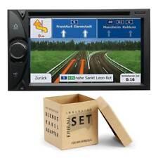 ESX VN620D 2-DIN Naviceiver Bluetooth für VW T5 Transporter runde Ecken schwarz