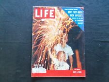 1955 JULY 4 LIFE MAGAZINE - THE FOURTH OF JULY - L 962