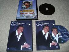 The Engelbert Humperdinck (DVDs) Spectacular + Engelbert Live. Very Good Free Sh