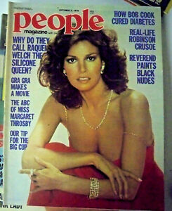 People With Pix Magazine, October 5 1978 - Raquel Welch - #M117