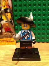 LEGO SERIES 4 MINI FIGURE MUSKETEER MINT CONDITION