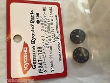 Kyosho Inferno MP9 TKI, Big Shock Piston BLACK 1.2 x 8 Holes (2), IF347-128