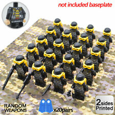 L119 Dollhouse Classic Toystory Black Soldiers Army Man Toys Miniature