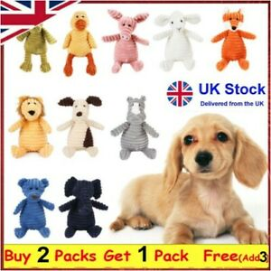 Pet Dog Puppy Chew Toy Squeaker Squeaky Soft Plush Play Sound Teeth Toys Gift
