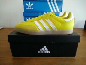 Adidas Velosamba SPD Cycling Shoes Acid Yellow White BNIB Size 11.5
