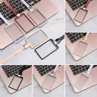 Aluminum Alloy ID Badge Holder Work Card Holders Name Card ID Business Case