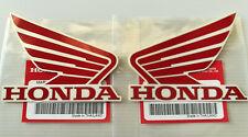 ORIGINAL Honda-Wing Flügel CBR Tank Aufkleber ROT//SCHWARZ 85mm 8,5cm