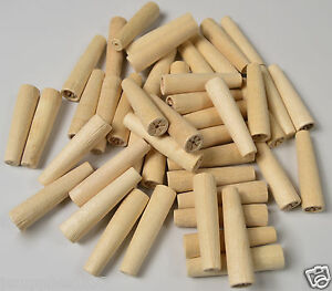 WOODEN HARD PEGS NON POROUS SPILES QTY 25 cask beer real ale brew