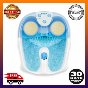 Active Life Waterfall Foot Spa with Lights and Bubbles Blue