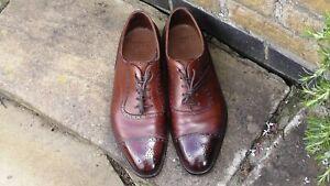 Edward Green Canterbury Oxford Dark Oak Antique Size 9.5 UK, 10 US Men's Shoes