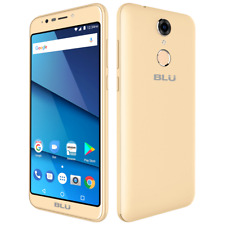 BLU Studio View XL Unlocked Android V 7.0 GSM Dual-SIM 5.7'' Phone CHAMPAGNE
