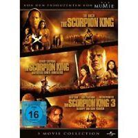 THE SCORPION KING 1-3 BOXSET - 3 DVD NEU DWAYNE JOHNSON,MICHAEL CLARKE DUNCAN
